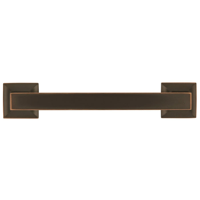 Hickory Hardware H-P3012-OBH Contemporary/Studio Oil Rubbed Bronze Highlighted Standard Pull - Knob Depot