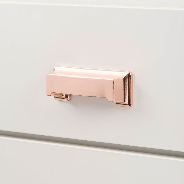 Hickory Hardware H-P3013-CP Contemporary/Studio Polished Copper Cup Pull