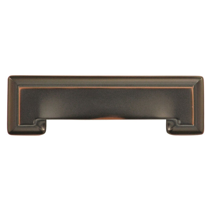 Hickory Hardware H-P3013-OBH Contemporary/Studio Oil Rubbed Bronze Highlighted Standard Pull