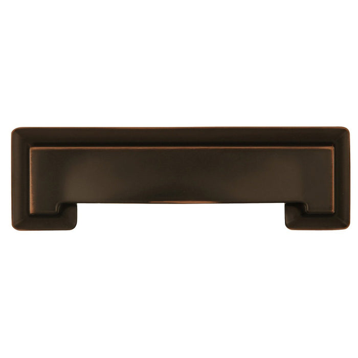 Hickory Hardware H-P3013-OBH Contemporary/Studio Oil Rubbed Bronze Highlighted Standard Pull - KnobDepot.com