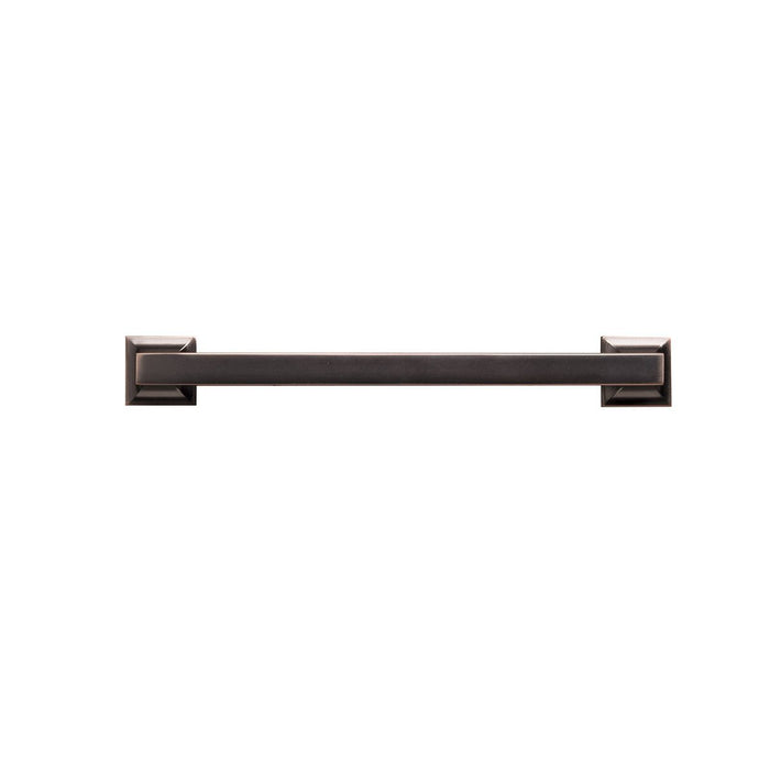 Hickory Hardware H-P3019-OBH Contemporary/Studio Oil-Rubbed Bronze Highlighted Square Pull