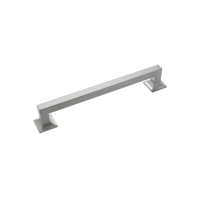 Hickory Hardware H-P3019-SN Contemporary/Studio Satin Nickel Square Pull