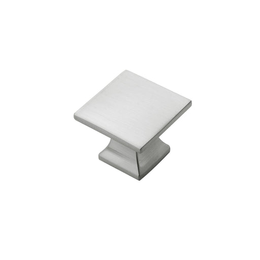 Hickory Hardware H-P3028-SN Contemporary/Studio Satin Nickel Square Knob - Knob Depot