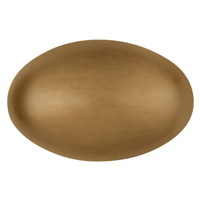 Hickory Hardware H-P3054-SD Traditional/Williamsburg Satin Dover Oval Knob