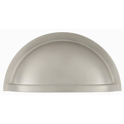 Hickory Hardware H-P3055-15 Traditional/Williamsburg Satin Nickel Cup Pull - KnobDepot.com