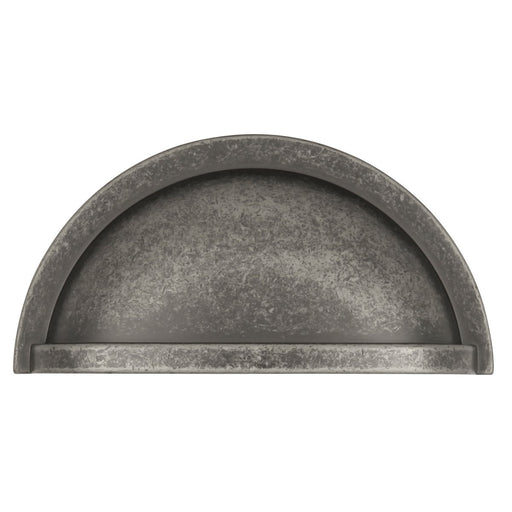 Hickory Hardware H-P3055-BNV Traditional/Williamsburg Black Nickel Vibed Cup Pull - Knob Depot