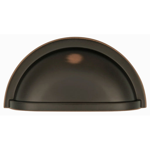 Hickory Hardware H-P3055-OBH Traditional/Williamsburg Oil Rubbed Bronze Highlighted Cup Pull - Knob Depot