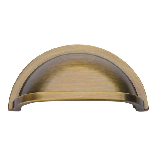 Hickory Hardware H-P3055-SD Traditional/Williamsburg Satin Dover Cup Pull - KnobDepot.com