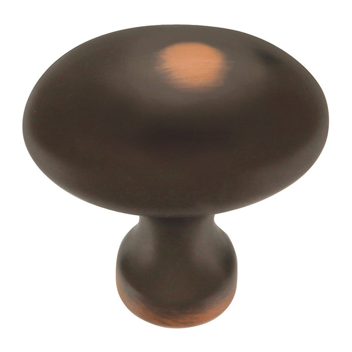 Hickory Hardware H-P3058-OBH Traditional/Williamsburg Oil-Rubbed Bronze Highlighted Oval Knob