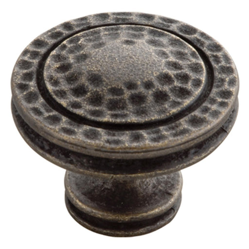 Hickory Hardware H-P3061-WOA Casual/Mountain Lodge Windover Antique Round Knob - Knob Depot
