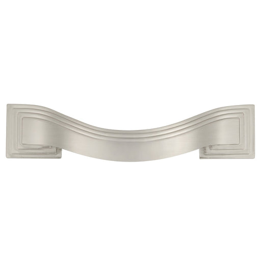 Hickory Hardware H-P3100-SN Contemporary/Deco Satin Nickel Standard Pull - Knob Depot