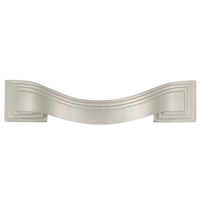 Hickory Hardware H-P3100-SN Contemporary/Deco Satin Nickel Standard Pull