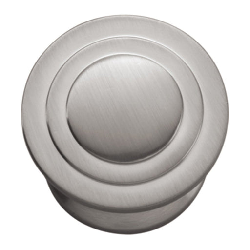 Hickory Hardware H-P3101-SN Contemporary/Deco Satin Nickel Round Knob - Knob Depot
