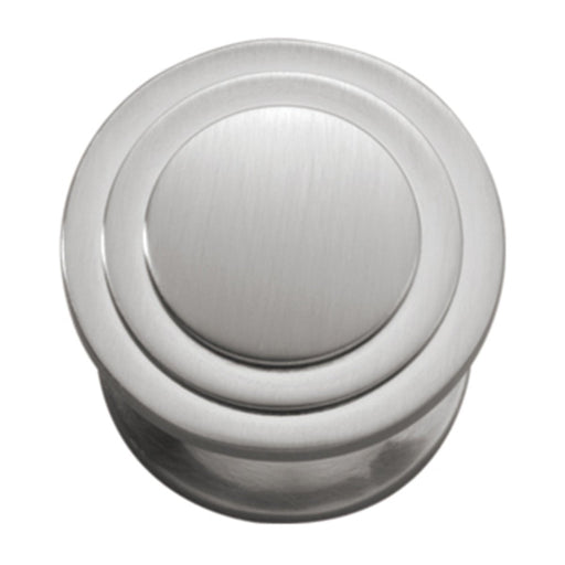 Hickory Hardware H-P3102-SN Contemporary/Deco Satin Nickel Round Knob - Knob Depot