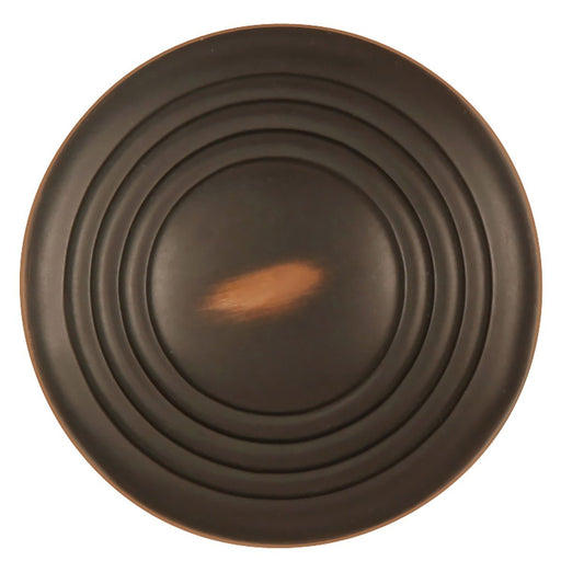 Hickory Hardware H-P3103-OBH Contemporary/Deco Oil Rubbed Bronze Highlighted Round Knob - Knob Depot