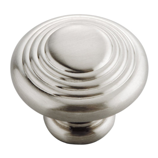 Hickory Hardware H-P3103-SN Contemporary/Deco Satin Nickel Round Knob - Knob Depot