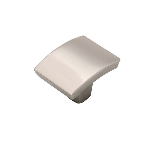 Hickory Hardware H-P3123-14 Contemporary/Rotterdam Bright Nickel Rectangular Knob - Knob Depot