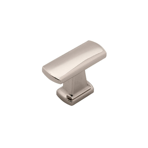 Hickory Hardware H-P3125-14 Contemporary/Rotterdam Bright Nickel Rectangular Knob - Knob Depot