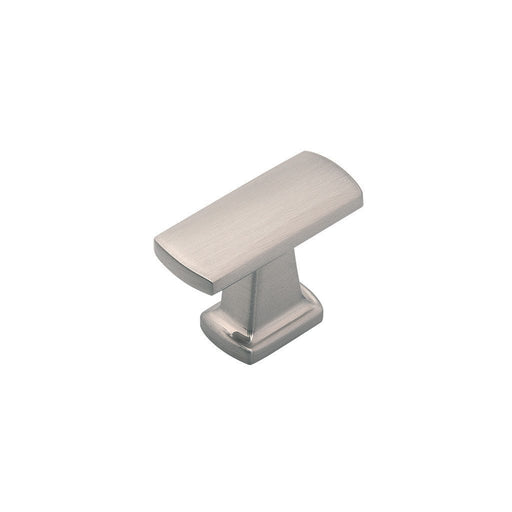 Hickory Hardware H-P3125-SN Contemporary/Rotterdam Satin Nickel Rectangular Knob - Knob Depot
