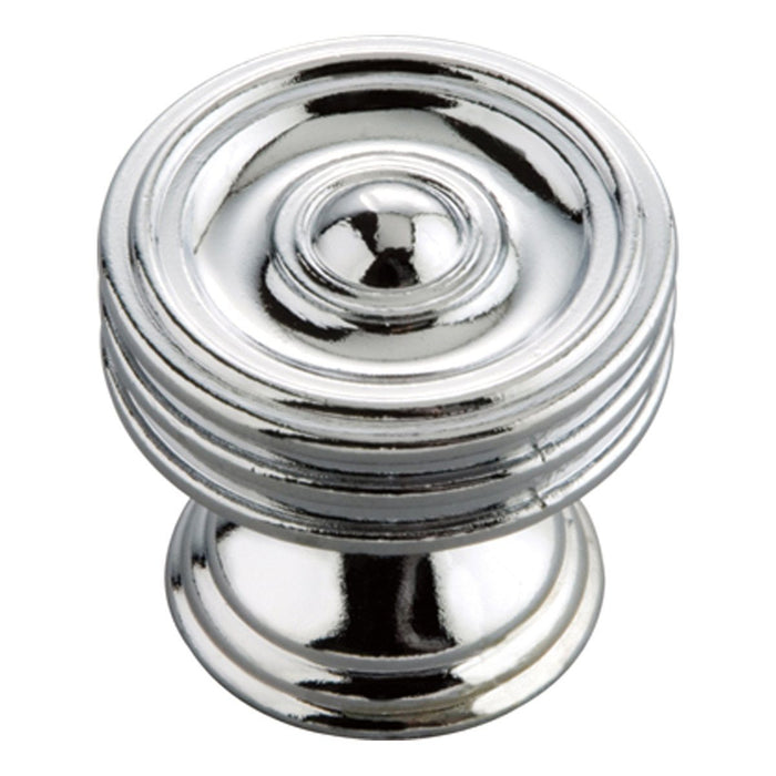 Hickory Hardware H-P3131-CH Traditional/Williamsburg Chrome Round Knob