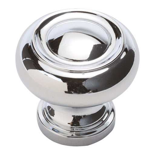 Hickory Hardware H-P3151-CH Traditional/Williamsburg Chrome Round Knob