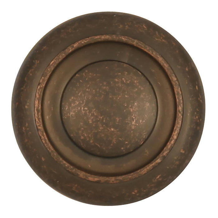 Hickory Hardware H-P3151-DAC Traditional/Cottage Dark Antique Copper Round Knob - KnobDepot.com