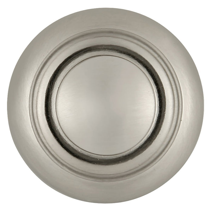 Hickory Hardware H-P3151-SN Traditional/Cottage Satin Nickel Round Knob - Knob Depot