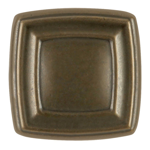 Hickory Hardware H-P3180-WOA Contemporary/Knob Windover Antique Square Knob - Knob Depot