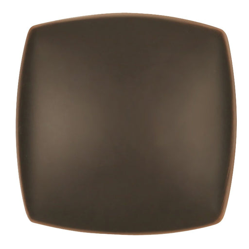 Hickory Hardware H-P3181-OBH Contemporary/Euro-Contemporary Oil Rubbed Bronze Highlighted Square Knob - KnobDepot.com