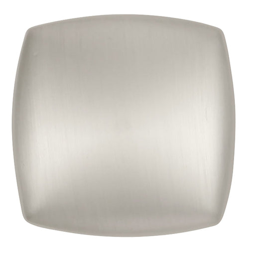 Hickory Hardware H-P3181-SN Contemporary/Euro-Contemporary Satin Nickel Square Knob - Knob Depot