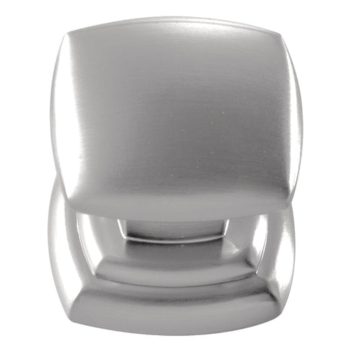 Hickory Hardware H-P3181-SS Contemporary/Euro-Contemporary Stainless Steel Square Knob - Knob Depot