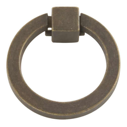 Hickory Hardware H-P3190-WOA Traditional/Camarilla Windover Antique Ring Pull - KnobDepot.com