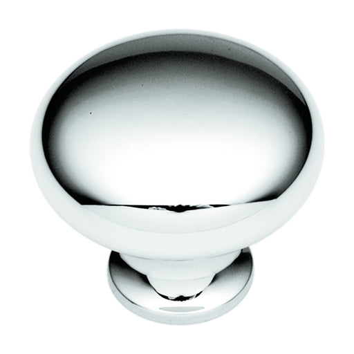 Hickory Hardware H-P320-26 Traditional/Eclipse Chrome Round Knob - Knob Depot