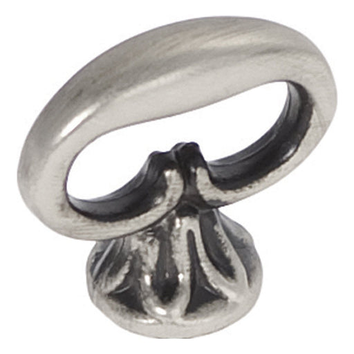 Hickory Hardware H-P321-ST Traditional/Manor House Silver Stone Finger Pull - Knob Depot