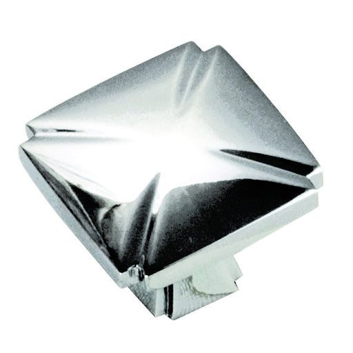 Hickory Hardware H-P3230-CH Traditional/Bridges Chrome Square Knob - Knob Depot
