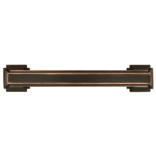 Hickory Hardware H-P3231-OBH Traditional/Bridges Oil Rubbed Bronze Highlighted Standard Pull - KnobDepot.com