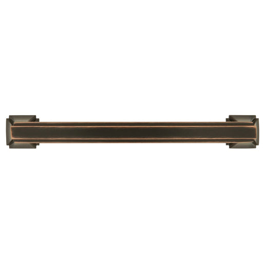 Hickory Hardware H-P3233-OBH Traditional/Bridges Oil Rubbed Bronze Highlighted Standard Pull - KnobDepot.com