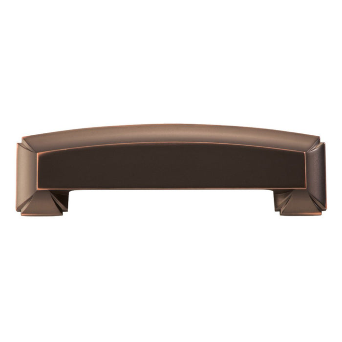 Hickory Hardware H-P3234-OBH Traditional/Bridges Oil Rubbed Bronze Highlighted Cup Pull - Knob Depot