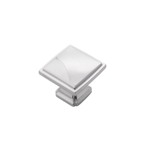 Hickory Hardware H-P3240-CH Traditional/Bridges Chrome Square Knob - Knob Depot