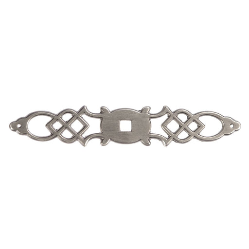 Hickory Hardware H-P326-ST Traditional/Manor House Silver Stone BackPlate