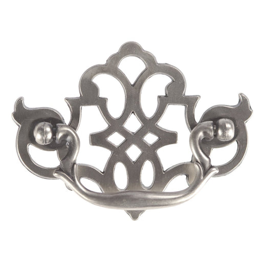 Hickory Hardware H-P329-ST Traditional/Manor House Silver Stone Drop Pull