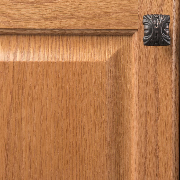 Hickory Hardware H-P3430-VB Traditional/Ithica Vintage Bronze Rectangular Knob - Knob Depot