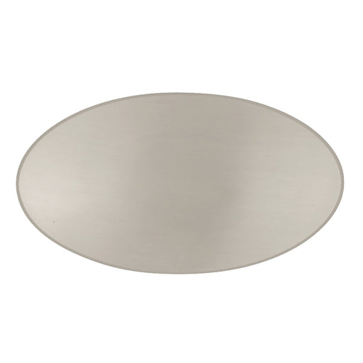Hickory Hardware H-P3446-SN Designed for Value/Luna Satin Nickel Oval Knob - Knob Depot
