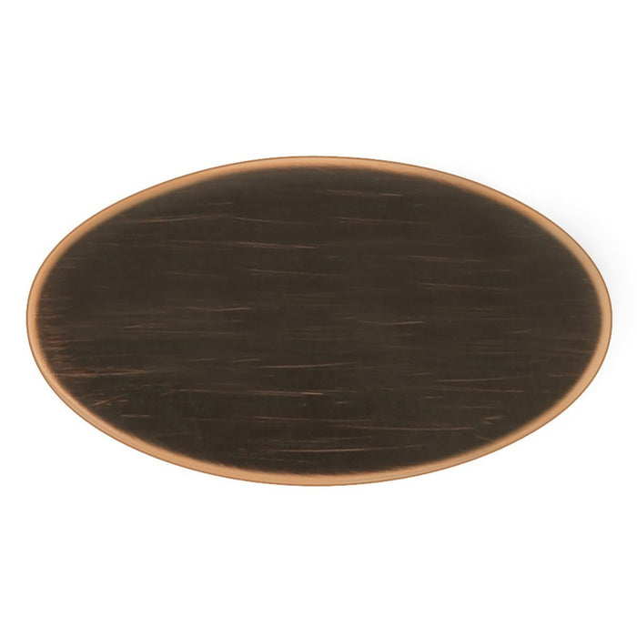 Hickory Hardware H-P3446-VB Designed for Value/Luna Vintage Bronze Oval Knob - KnobDepot.com