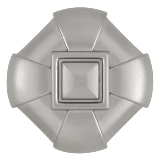 Hickory Hardware H-P3455-SS Designed for Value/Chelsea Stainless Steel Square Knob - KnobDepot.com