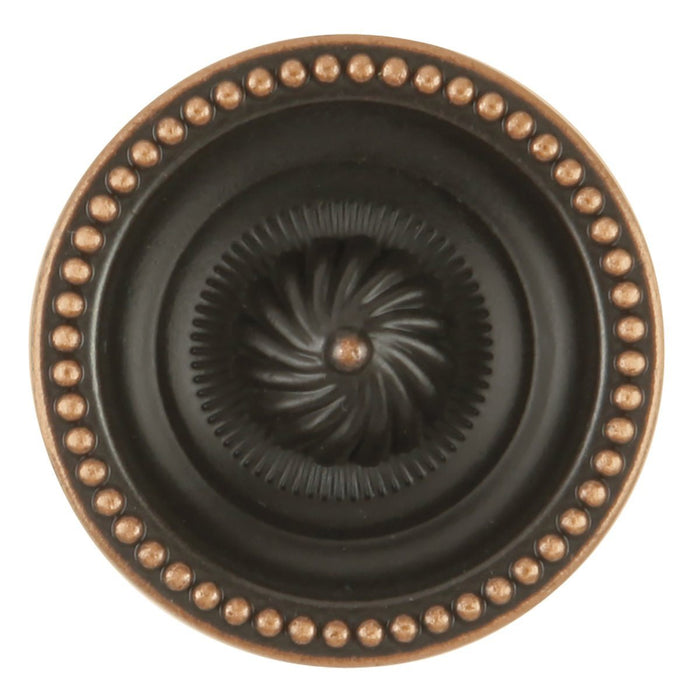 Hickory Hardware H-P3460-VB Designed for Value/Roma Vintage Bronze Round Knob - Knob Depot