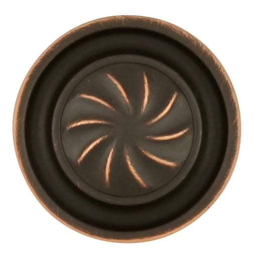 Hickory Hardware H-P3461-VB Designed for Value/Roma Vintage Bronze Round Knob - Knob Depot