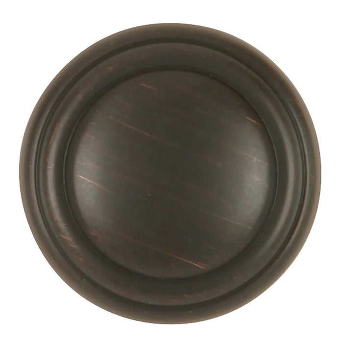 Hickory Hardware H-P3464-VB Designed for Value/Bel Aire Vintage Bronze Round Knob - Knob Depot