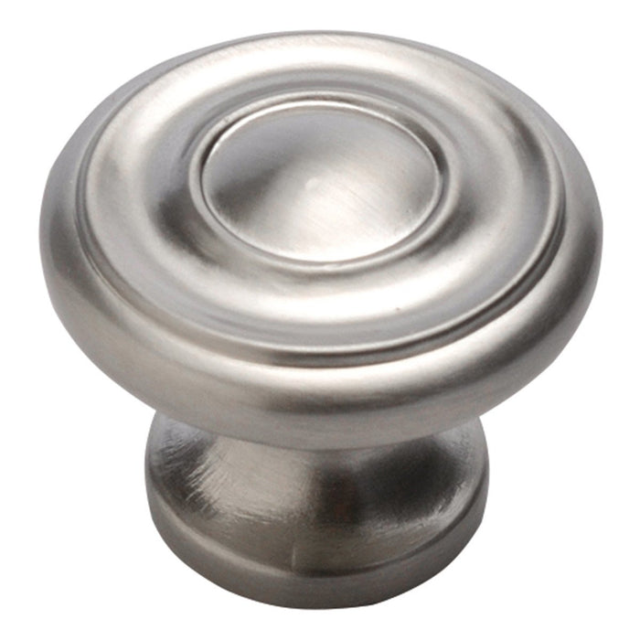 Hickory Hardware H-P3500-SS Traditional/Williamsburg Stainless Steel Round Knob - KnobDepot.com