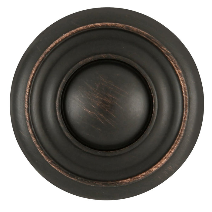 Hickory Hardware H-P3501-VB Traditional/Cottage Vintage Bronze Round Knob - KnobDepot.com